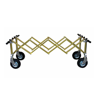Use of the telescopic cart respect accessories funeral