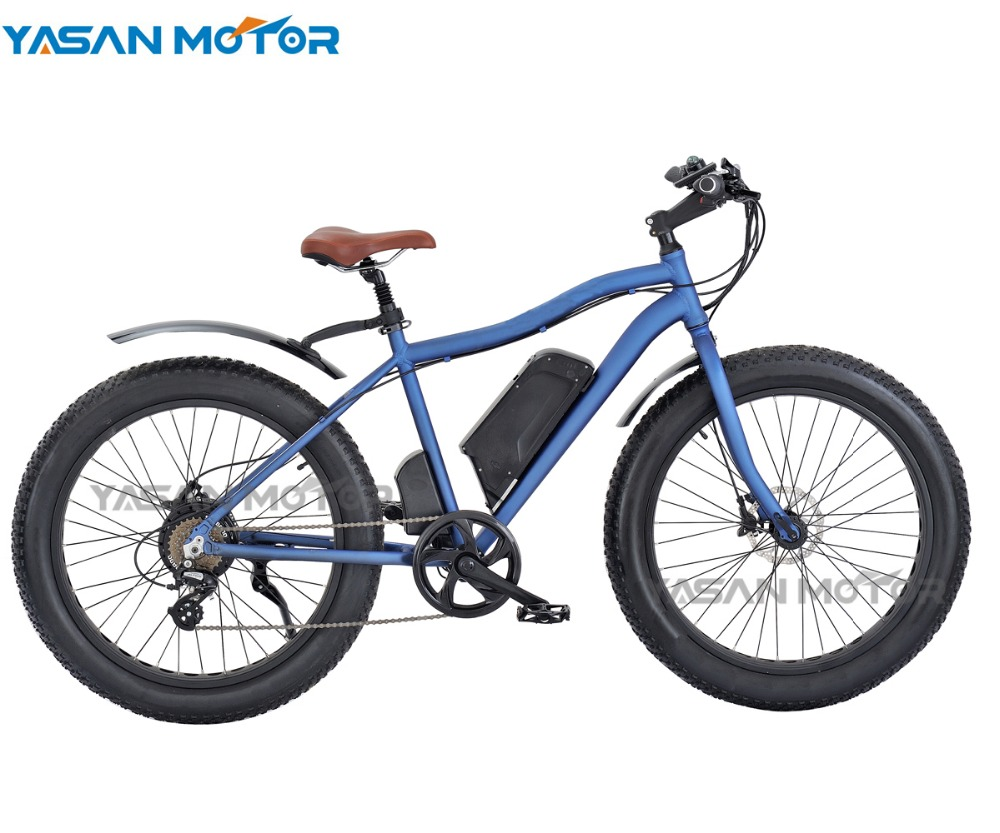 "Hot Sales 26"" KENDA Fat Tire Electric Mountain Bicycles 500W Peerless Mountain Bicycle with Suspension Front Fork"