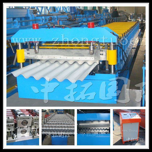 metal roof sheet making machine Zinc roof tile making machine galvanize roof panel roll forming machine