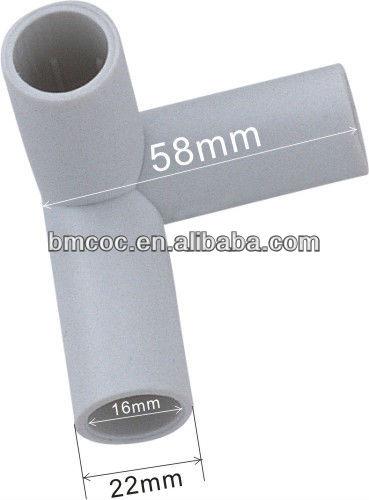 Muebles de tubo de plástico conectores de perfil redondoOtros