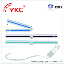 U3350 plastic ruler folding ruler