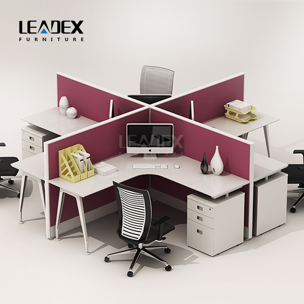 Office Standing Workstation With Mds Freestanding Side Leg