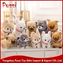 Stuffed animals plush dog toy with big eyes