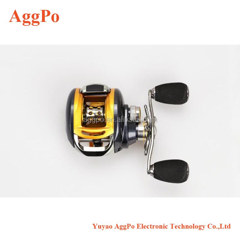 Right//Left Hand Low Profile Baitcasting Fishing Reel 12+1BB Baitcaster Reels