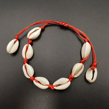 Женский ножной браслет XIYANIKE, летняя пляжная босичка с ремешком на щиколотке, богемные ювелирные изделия, аксессуары(Китай)