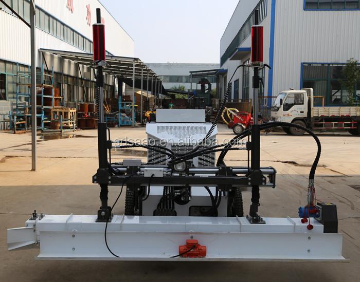 Four-wheel Hydraulic Motor 20hp Gasoline Engine 3d Laser Screed With  Electric Start(sjzp-220) - Buy Electric Start Concrete Screed,Concrete  Vibrating