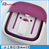 high quality foldable Vibration and Bubble heating foot spa massager