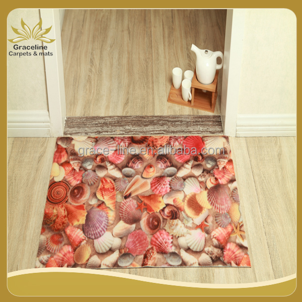 low price dedust mat 3D picture printed doormat