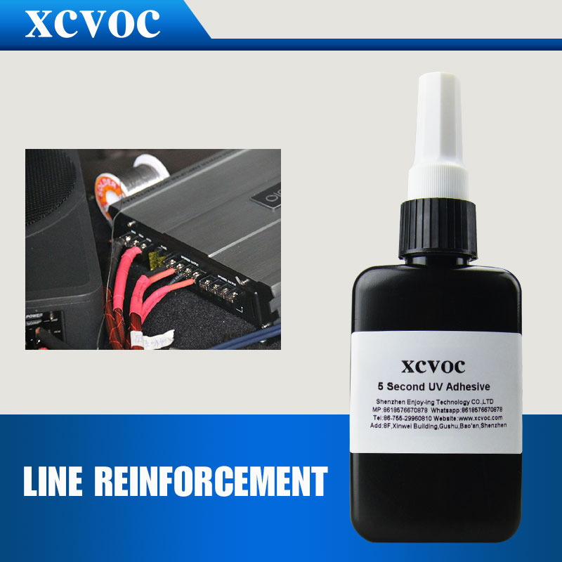 Free Sample Electronic Components Fixed Glue Cable Fxed Adheisve PCB UV Adhesive Cured in 3 Seconds Electonic Glue