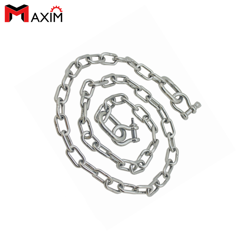 1//8/'/' Stainless Steel 316 Chain SS Dog Chain Boat Anchor Chain