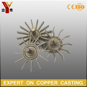 OEM Lost wax casting brass impeller