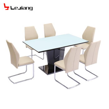 Free Sample 6 Chairs Dinner Room Furniture Dinning 8 4 Malaysia 12 Formal Foshan Dining Table Set