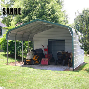 steel car shed structure inflatable carport garage