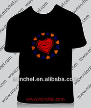 Fashion design paar el t-shirt
