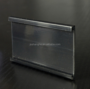 metal shelf label holder