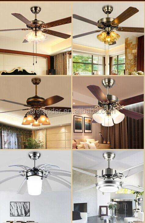 Malaysia Led Invisible Ceiling Fan Light With 4 Blades And Remote ...