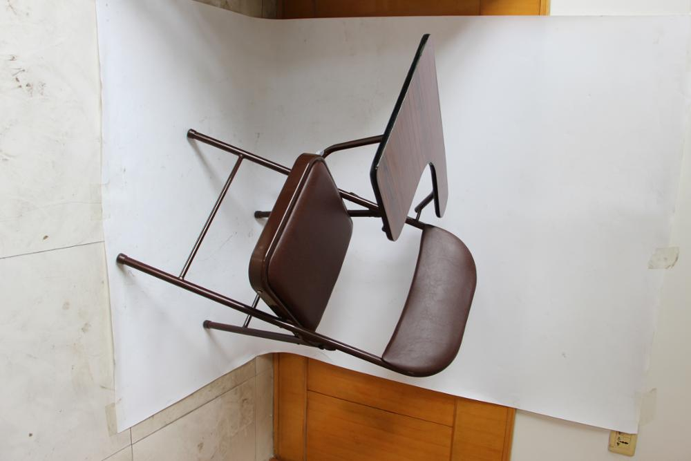 Wood School Chairs with Table for student