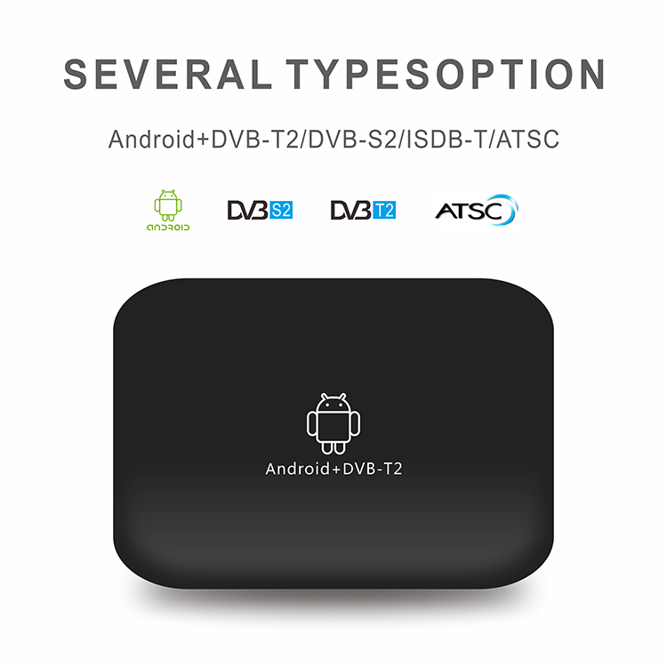 Originale Q8 Android media palyer Android 7.1 OS con KODI Stalker IPTV smart box