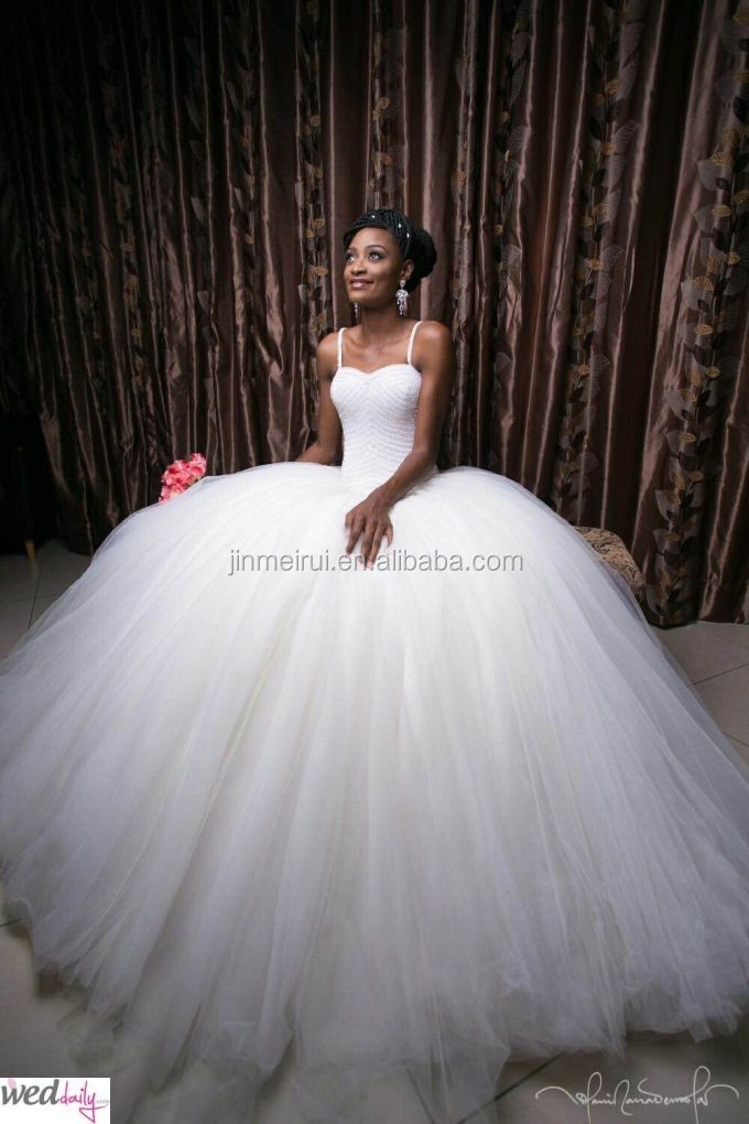 Nigerian Wedding Presents 2016 New Arrival Brides Dresses High