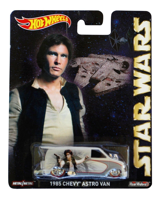 Hot Wheels Star Wars Pop Culture Han Solo 1985 Chevy Astro Van
