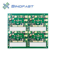 4 layers immersion gold ( ENIG ) 2 oz ROHS Printed circuit manufacture PCB Shenzhen