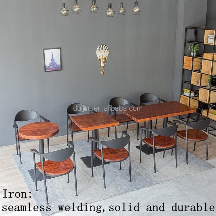 Vintage Industrial Style Furniture Wholesale Coffee Shop