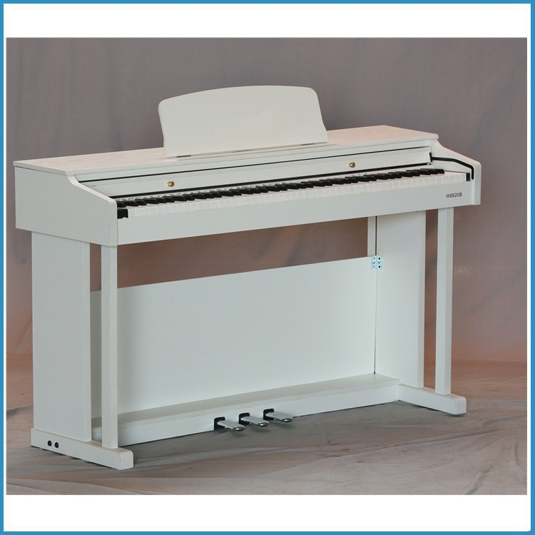 163 voice steel pedal grand digital electric piano in white color buy grand digital electric. Black Bedroom Furniture Sets. Home Design Ideas