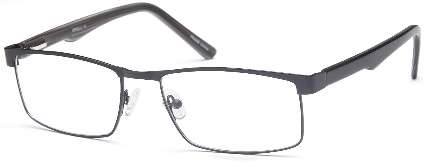 bc2a0a4150 Get Quotations · DALIX Mens Prescription Eyeglasses Frames 54-17-138-33  RXable in Gold