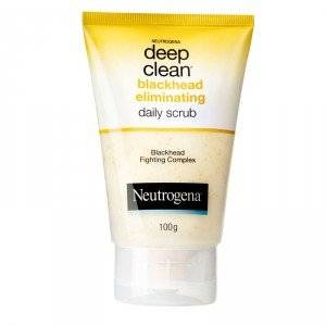 Neutrogena Deep Clean Blackhead Eliminating Daily Scrub 100 gm