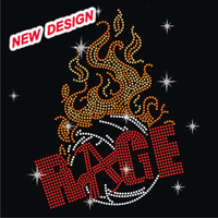 Cool racing motor running with flame clothing motif design FY 47 (8)