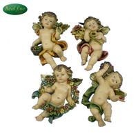 New Design Resin Angel Figurines For Christmas Decoration