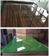 Guangdong factory kitchen cabinet door color UV coated high gloss laminated particle board