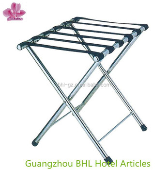 Stainless Steel Luggage Rack Folding For Bedroom