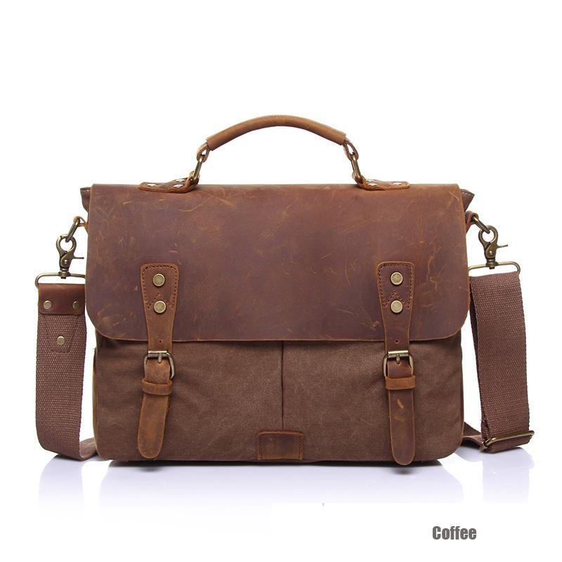 Брезент кожа мужчины сумка-мессенджер винтажный кроссбоди сумки для женщины свободного покроя мужчины в путешествие сумки bolsas бизнес сумочка HF2148