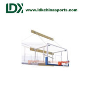 Professional Basketball Stand Wall Mounted Basketball Backboard