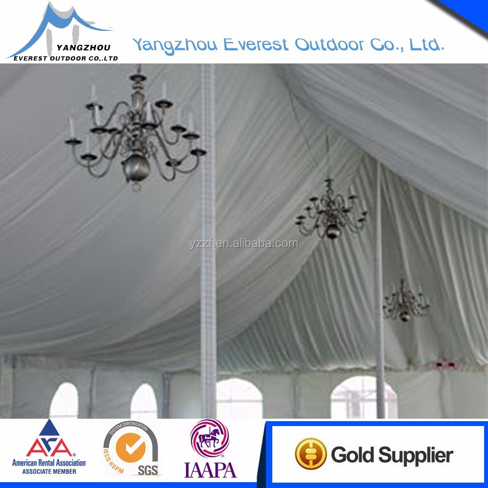 Most popular professional nice decoration lining wedding tent