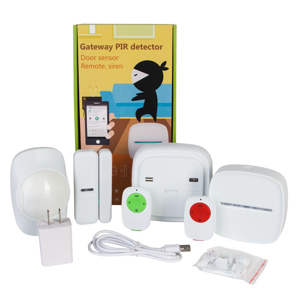 Neue Design Automation Alarm WIFI Smart Home System Set