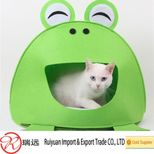 New products 2016 super quality felt pet house for dog or cats