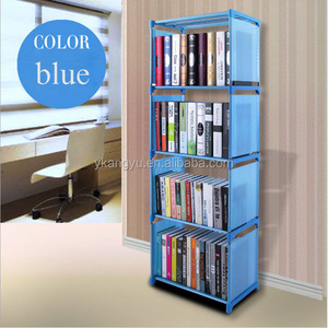 high quality convenient home plastic bookcase