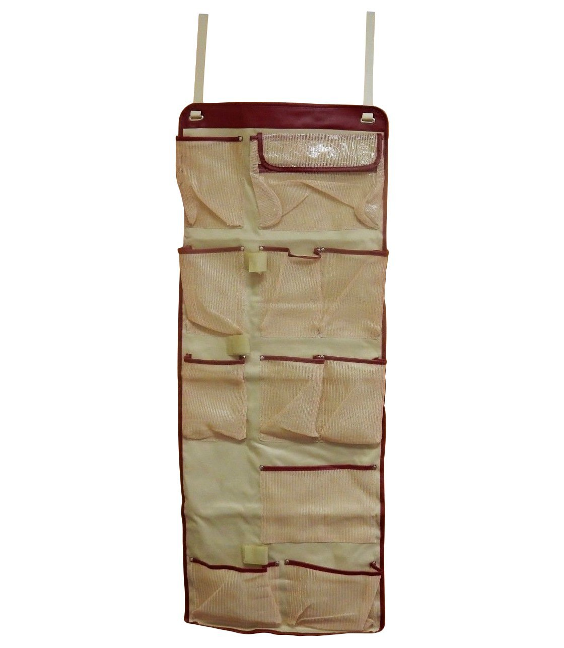 Get Quotations · Over The Door Organizer, 11 Pockets, Hanging Household  Organizer With Hooks, Pantry Organizer