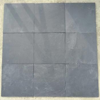 Garden Outdoor Natural Black Slate Tile