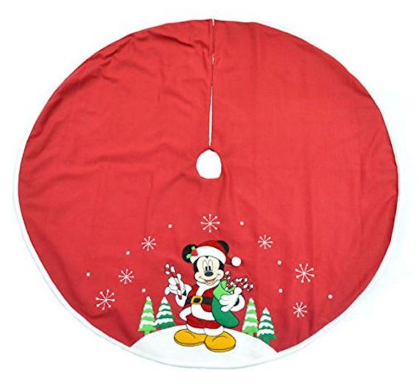 "Disney Christmas 48"" Tree Skirt Mickey Mouse 2016"