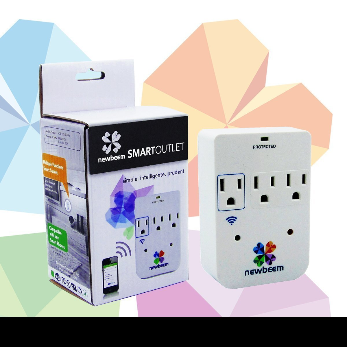 Smart Wi-Fi Dimmer, Control lights from your cell phone, Smart Outlet, Surge Protesmart dimmer,smart outlet,smart socket,wi-fi dimmer,wi-fi outlet,wi-fi socket,smart dimmer switch,