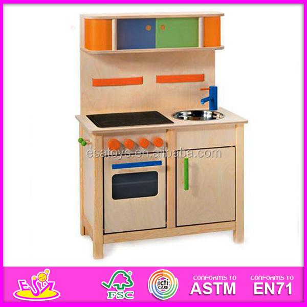 Happy Play Fun Wooden Kitchen Toy,wooden Toy Kitchen Set Toy For  Children,cheap