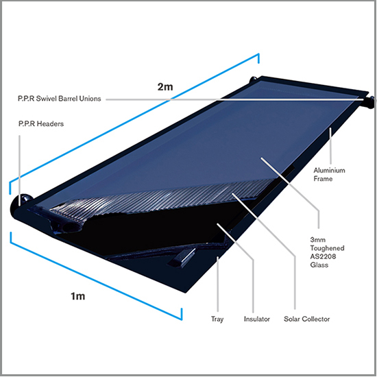Sillicone Rubber Solar Pool Heater For Swimming Pool Heating Buy Solar Pool Heater Sillicone