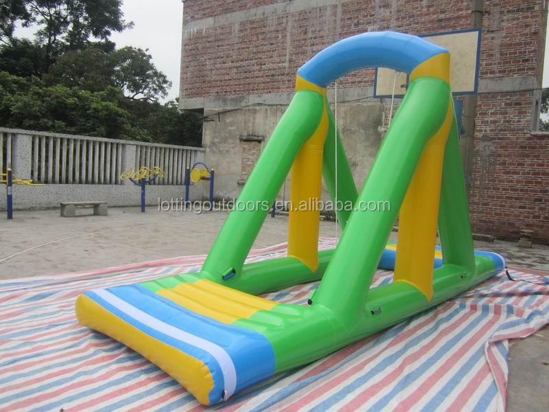 Commercial Inflatable Slip N Slide Floating Inflatable