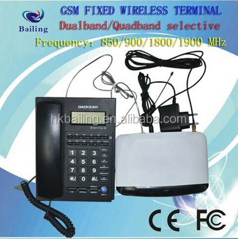 GSM FWT Mini box fixed wireless terminal with PSTN for public phone