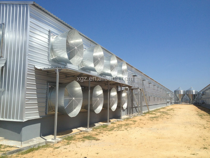 low cost prefabricated poultry house