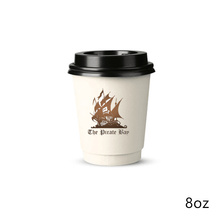 Wholesale Recyclable Cheap Custom Branded Printed colorful disposable paper cup
