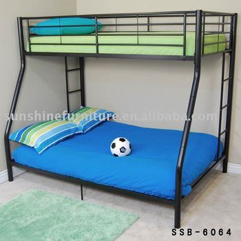 Mordern Metal Frame Double Deck Single Bunk Bed - Buy Metal Bunk Bed ...